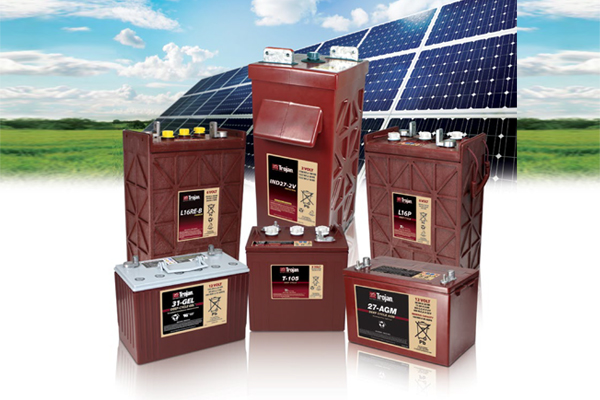 off-grid Solar batteries