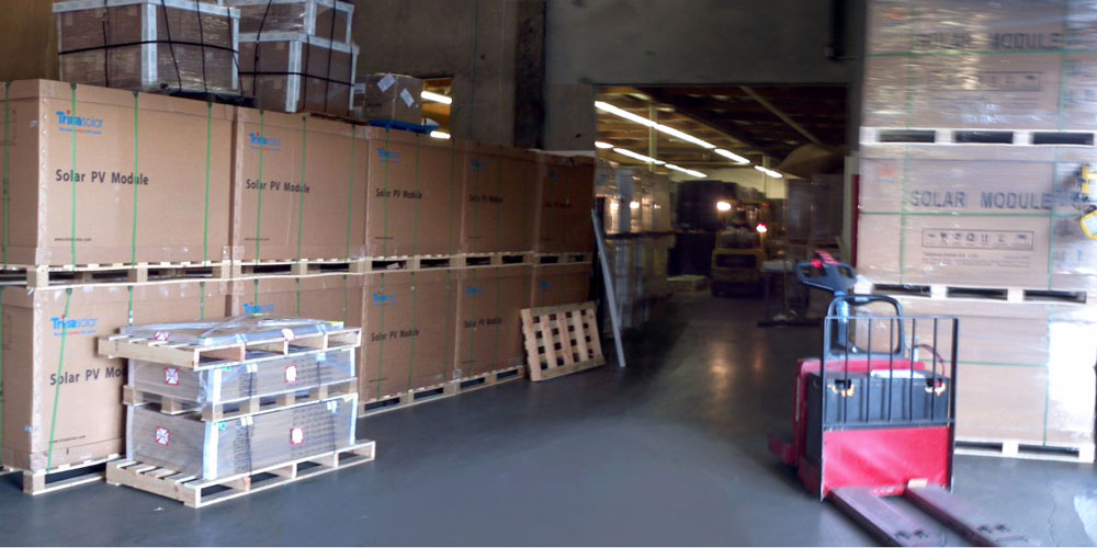 Solar Panel Warehouse