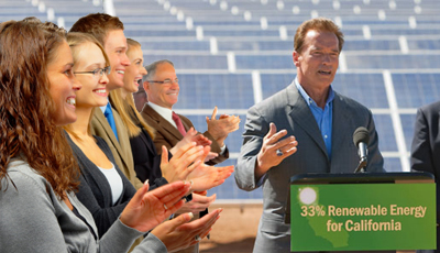 california governor solar
