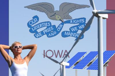 iowa solar wind