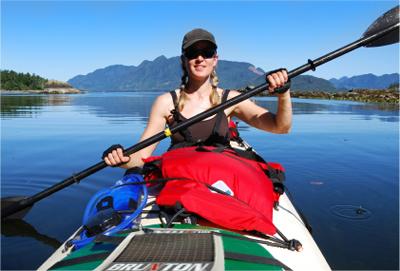 solar kayaking