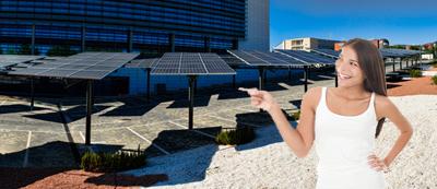 solar parking lots