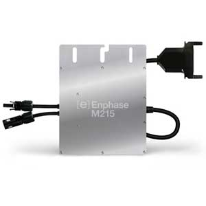 Enphase Energy M215-60-2LL-S22-IG Grid-Tied Microinverter on