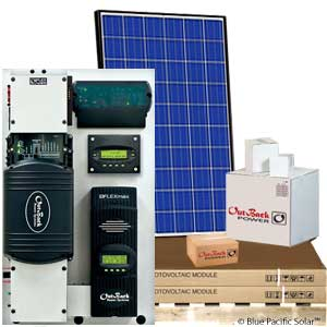 Outback 2500w fp1 off grid kit for Solar panel layout tool