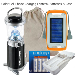 Personal Portable Solar Light & Cell Phone Charger for The Developing World