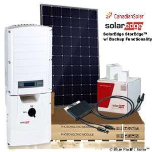 SolarEdge StorEdge™ 7 6 kWh Canadian Mono Panel Kit w