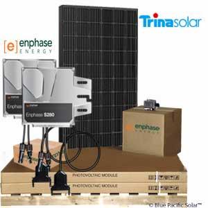 enphase Trina Solar
