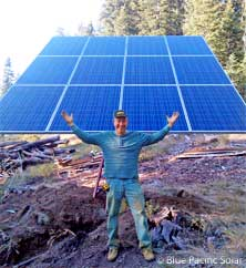 Nevada 12 Panel Off Grid Kit ...