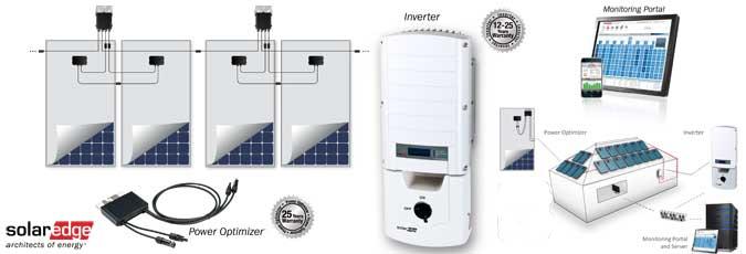 solaredge dual optimizer system solaredge solar 59kw kit 12 PV Panes Line Diagram at fashall.co