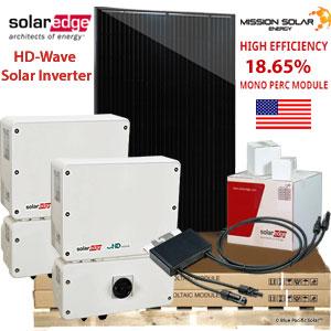solaredge 15.5 Solar Panel Kit