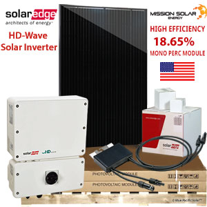 13.8 kW solaredge Solar Kit