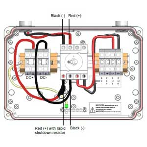 solaredge rapid shutdown kit solaredge 6760w solar kit Solar Array Wiring-Diagram at crackthecode.co