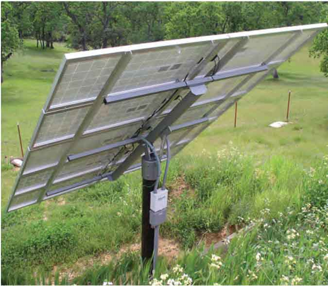 PowerFab / DPW Solar Panel Top-of-Pole Mounts