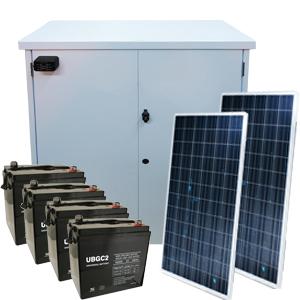 Home solar power backup generator failure