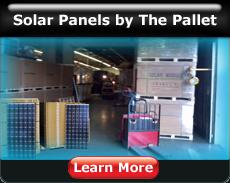 solar panels pallet