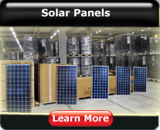 Completed solar panel kits