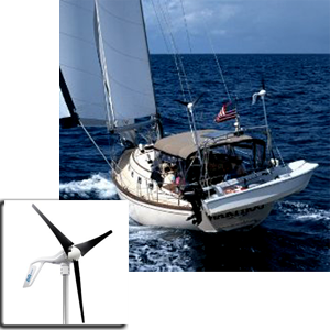 Air Breeze 12v Turbine Diy Marine Rv Shore Wind Generator